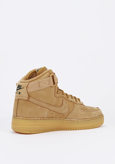 NIKE Basketballschuh Air Force 1 Hi LV8 (GS) flax/outdoor green