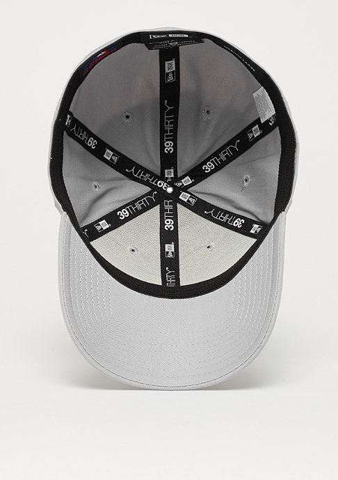 New Era Baseball-Cap 39Thirty League Basic MLB New York Yankees grey/white