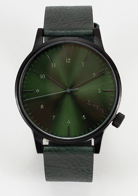 Komono Uhr Winston Regal forest