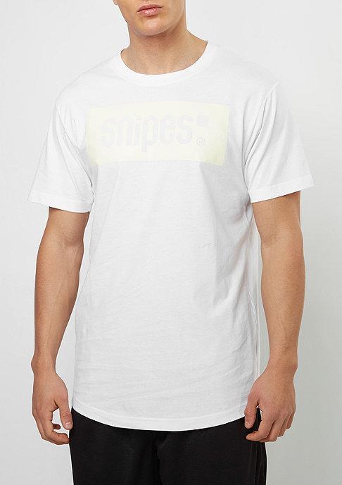 SNIPES Box Logo white/offwhite
