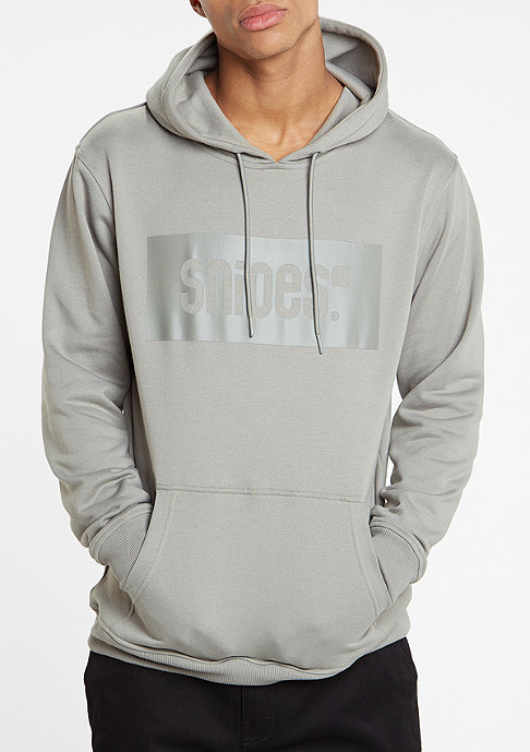 SNIPES Hooded-Sweatshirt Mono Box Logo dark grey
