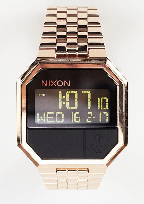 Nixon Klok Re-Run all rose gold