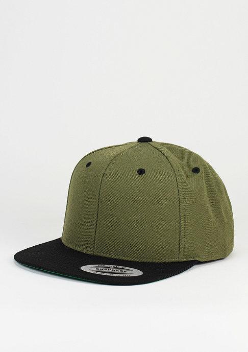 Flexfit Snapback-Cap Classic 2-Tone olive/black