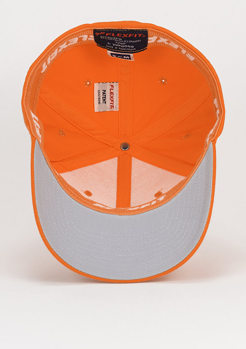 Flexfit Baseball-Cap Wooly Combed orange