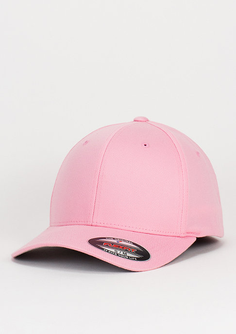 Flexfit Baseball-Cap Wooly Combed pink