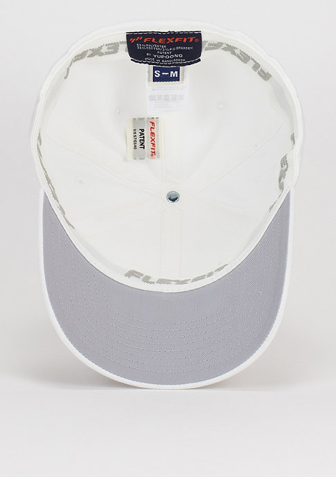 Flexfit Baseball-Cap Wooly Combed white