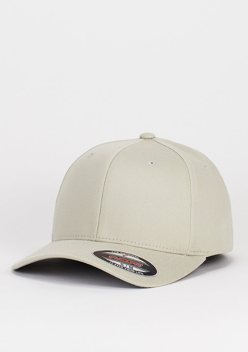 Flexfit Baseball-Cap Wooly Combed stone