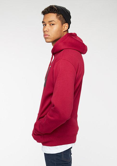 Mister Tee Hooded-Sweatshirt Pray ruby