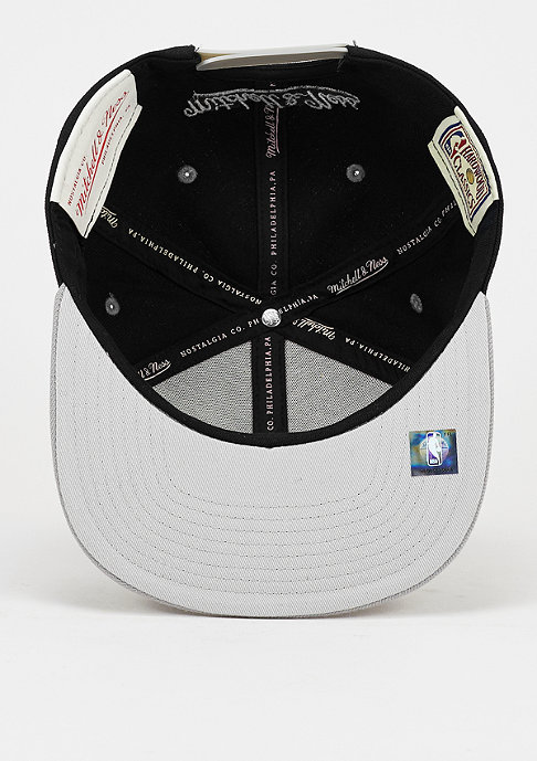 Mitchell & Ness Snapback-Cap Team Arch NBA San Antonio Spurs black
