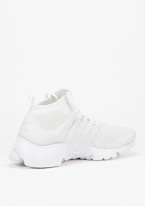 NIKE Air Presto Ultra Flyknit white/white/white/total crimson