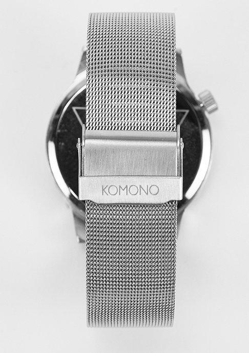 Komono Uhr Winston Royale silver/blue