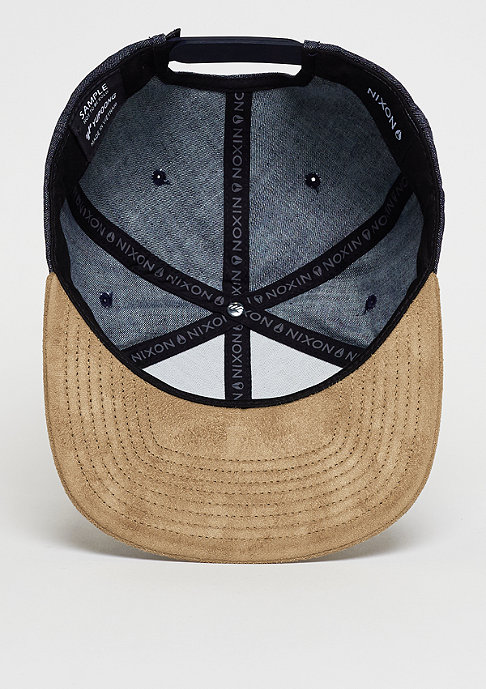 Nixon Snapback-Cap Exchange black denim