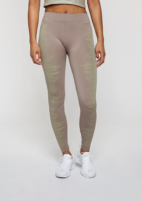 SNIPES Leggings taupe/light green