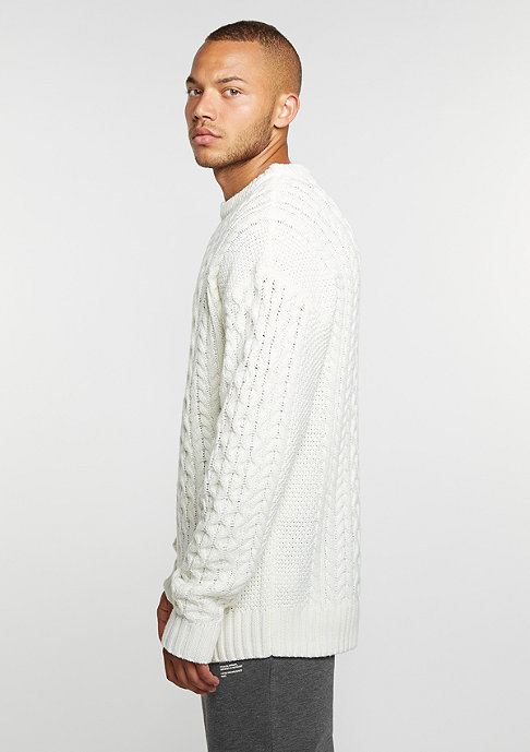 DRMTM DRMTM Knit Crew Oversized off white