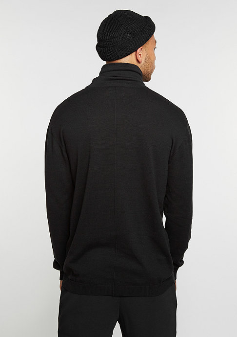 DRMTM Sweatshirt Knit Crew Turtleneck black