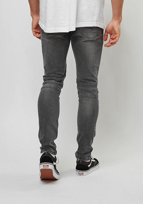 Cayler & Sons C&S Paneled Denim Pants vintage distressed black