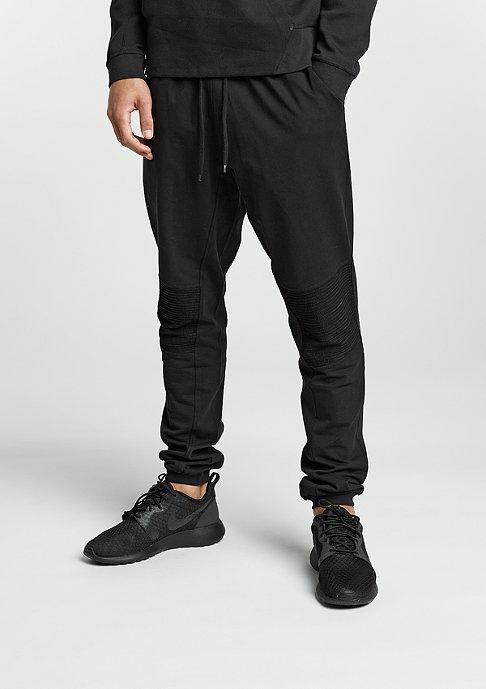 Urban Classics Trainingsbroek Deep Crotch Terry Biker black