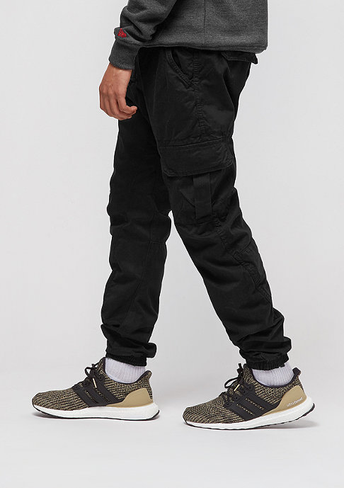 Urban Classics Pantalon cargo Camo Jogging black
