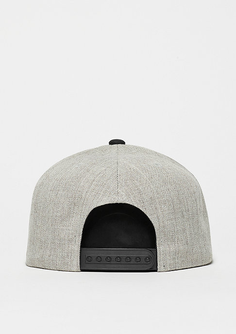 Brixton Snapback-Cap Wheeler light heather grey/black