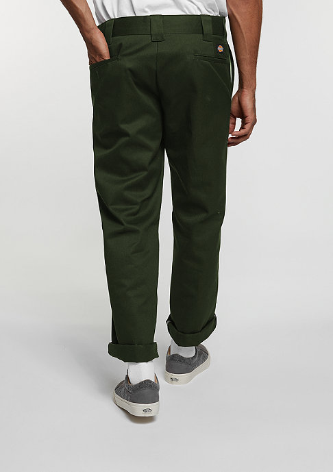 Dickies Straight Work Pant olive green