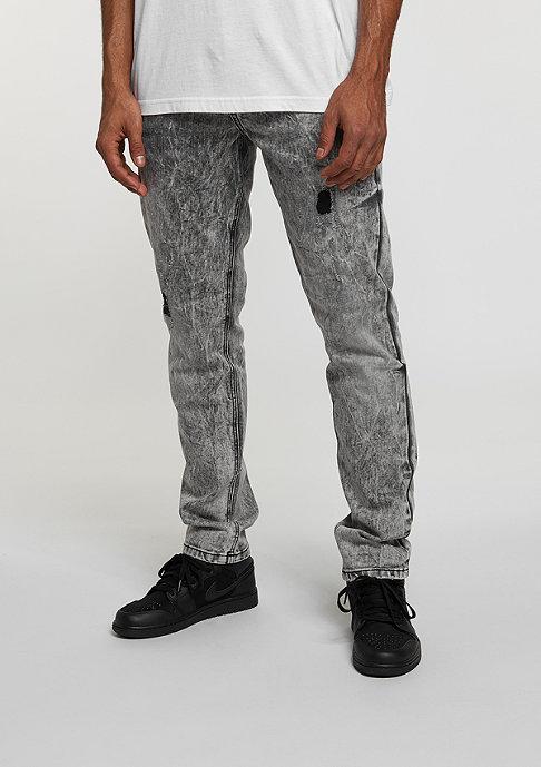 Rocawear Jeans Denim Pant dark grey wash destroyed