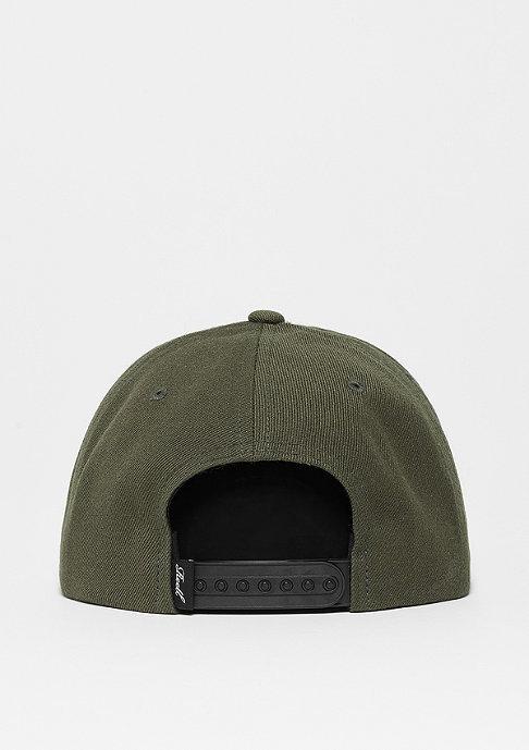 Reell Snapback-Cap Suede 6-Panel dark olive
