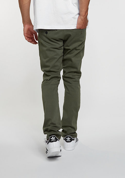 Reell Chino-Hose Flex Tapered olive