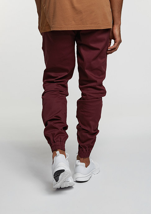 FairPlay Chino-Hose The Runner burgundy