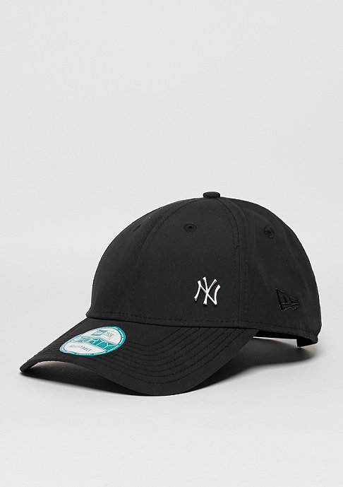 New Era Strapback-Cap 9Forty Flawless MLB New York Yankees black