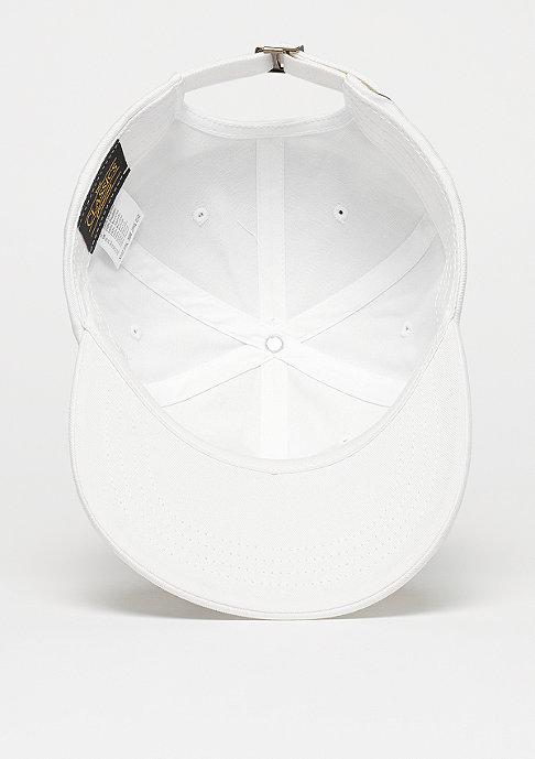 Flexfit Strapback-Cap Low Profile Cotton Twill white
