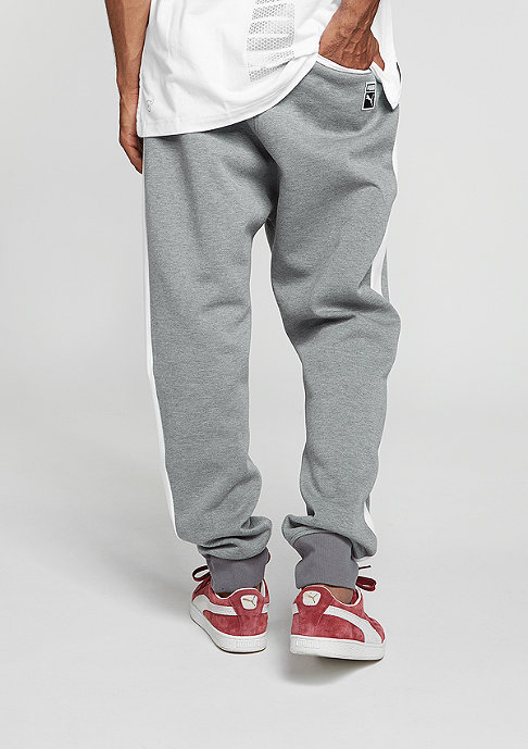 Puma Trainingshose T7 Track Pants medium grey heather