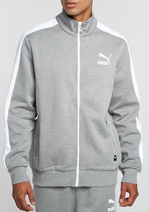 Puma Trainingsjacke T7 Track Jacket medium grey heather