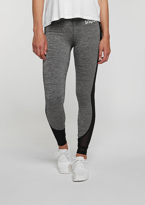 SNIPES Leggings SR Melange black
