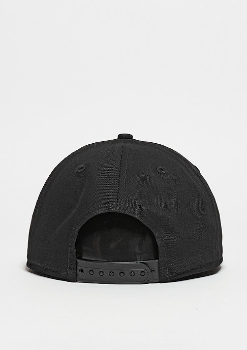 New Era Snapback-Cap Metal Badge black/black