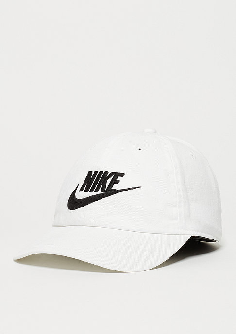 NIKE Baseball-Cap Heritage 86 Futura white/white/black