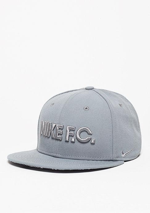 NIKE Snapback-Cap FC True cool grey/black/cool grey