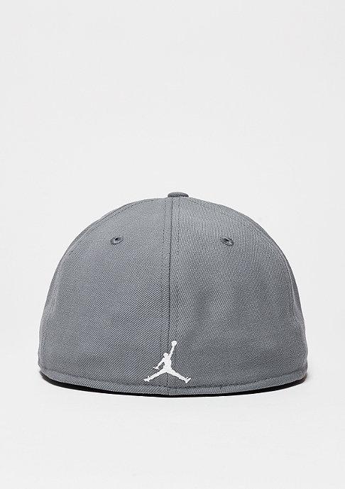 JORDAN Fitted-Cap Jumpmann cool grey/white