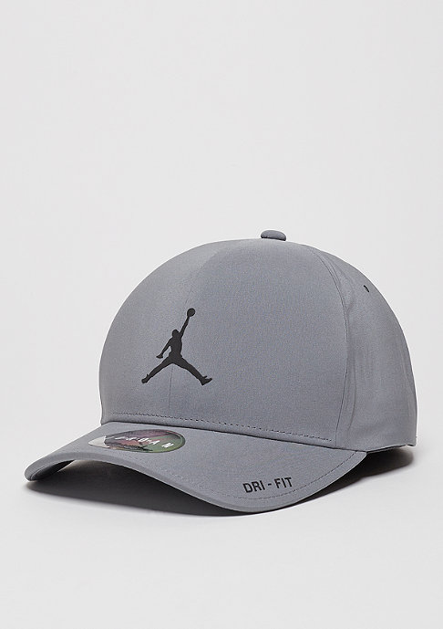 JORDAN Fitted-Cap Classic 99 Hat cool grey/reflect black