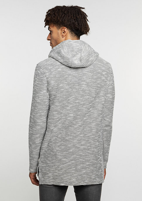 Black Kaviar Sweatshirt Kroove Grey