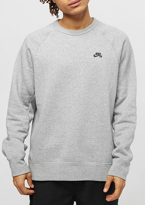 NIKE SB Icon Fleece dark grey heather/black