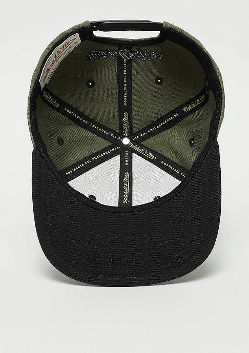Mitchell & Ness Snapback-Cap Box Logo olive/black