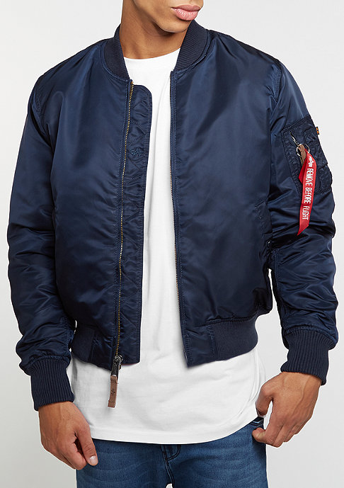 Alpha Industries Übergangsjacke MA-1 VF 59 r.blue