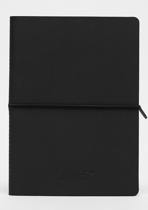 SNIPES Notebook A5 Premium black