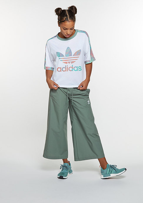 adidas Trainingshose Sailor Pant Wideleg stone green