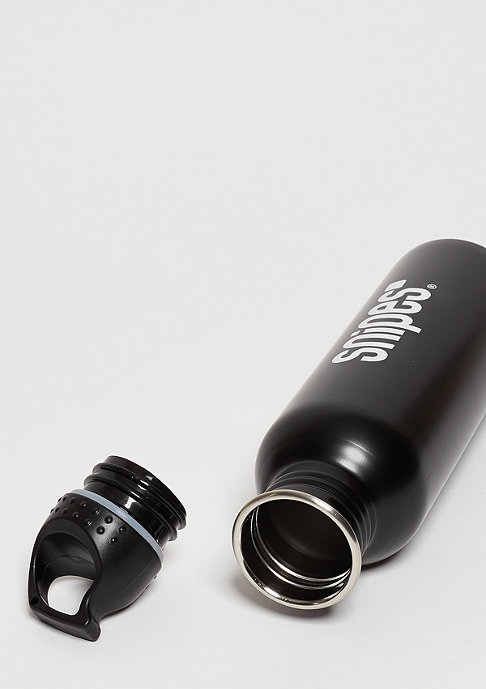 SNIPES Sportsbottle black
