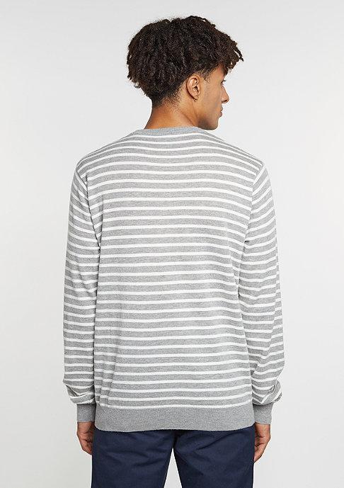 Carhartt WIP Sweatshirt Robie grey heather/snow/navy