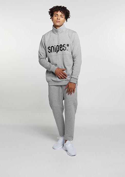 SNIPES Basic Cropped heather grey