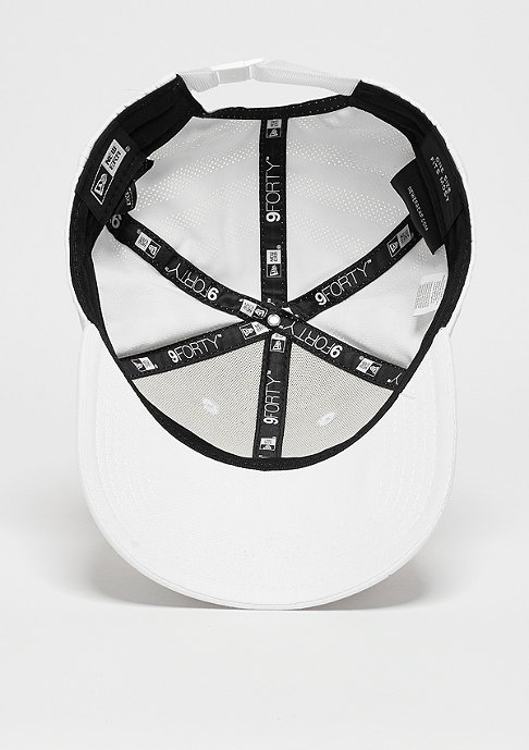 New Era Baseball-Cap Remix 9Forty Rubber Patch white