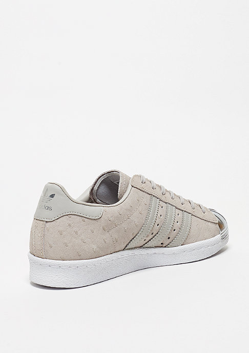 adidas Schuh Superstar 80s Metal Toe clear grey/clear grey/metallic silver