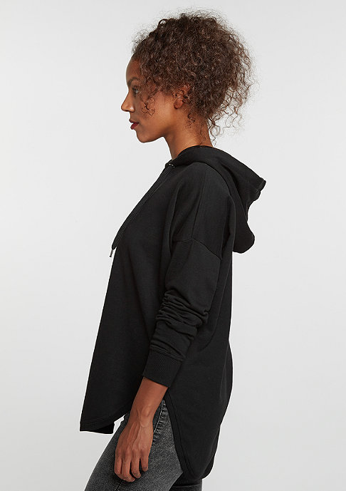Urban Classics Hooded-Sweatshirt Oversized Terry black
